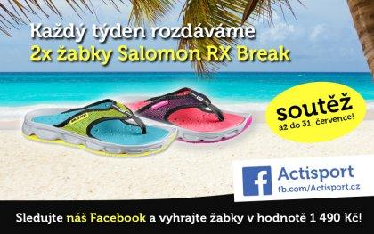 SOUTĚŽ  Vyhrajte žabky Salomon RX Break! 1e8cdaae09