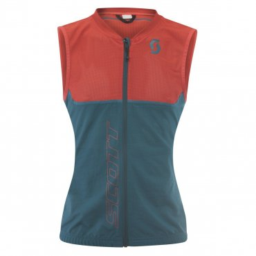 Scott Light Vest W's Actifit Plus dra gr/hb rd