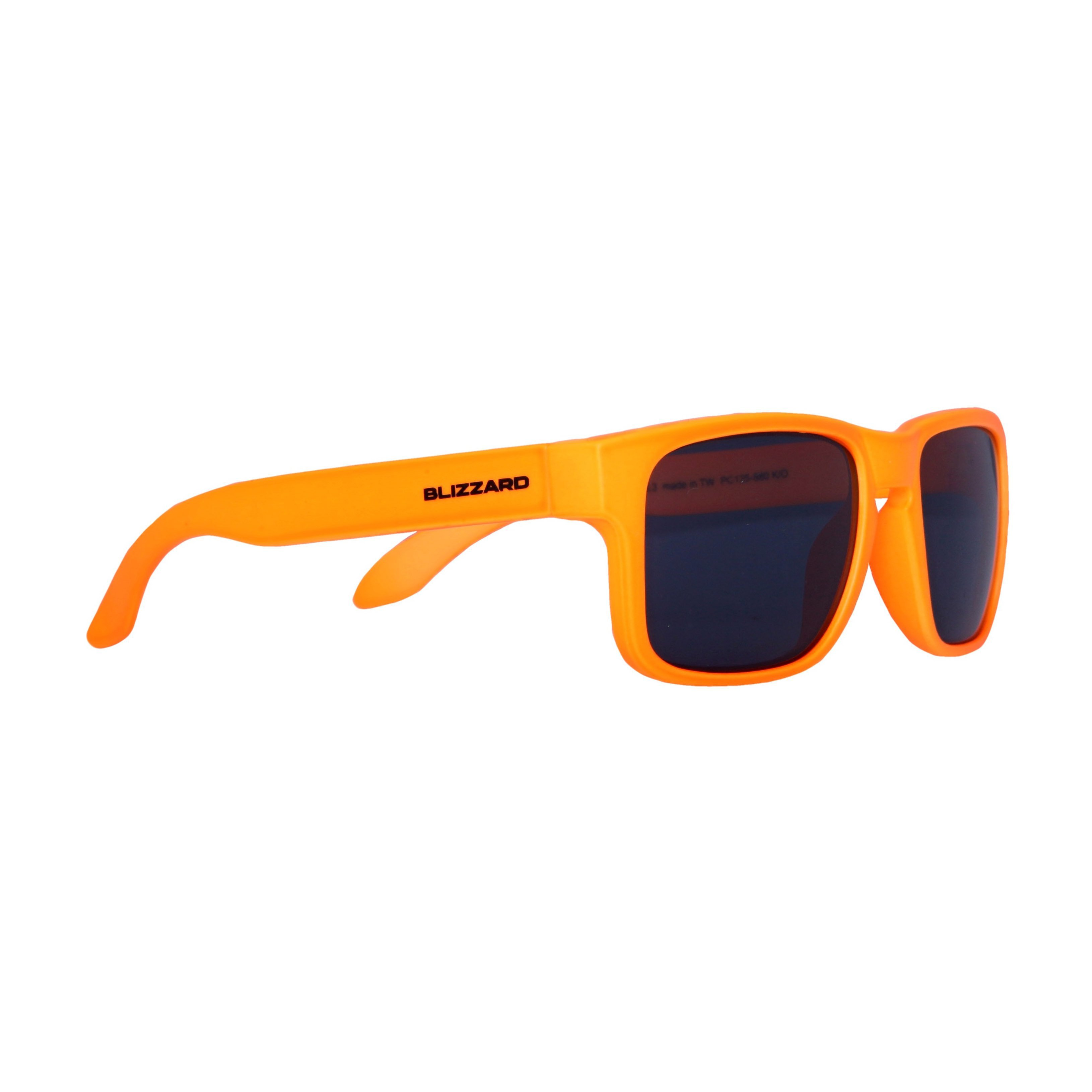 f2ed6ce8c Blizzard Sun Glasses PC125-880 Neon Orange Matt