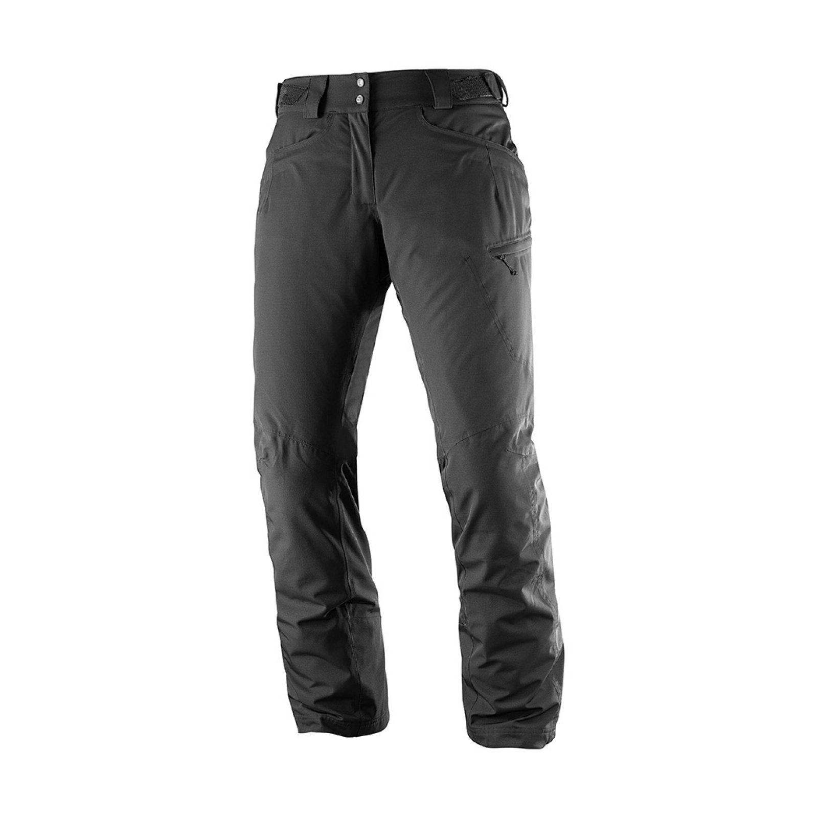 Lyžařské kalhoty Salomon Fantasy Pant W black heather L39889600 ... 900d1bfafe
