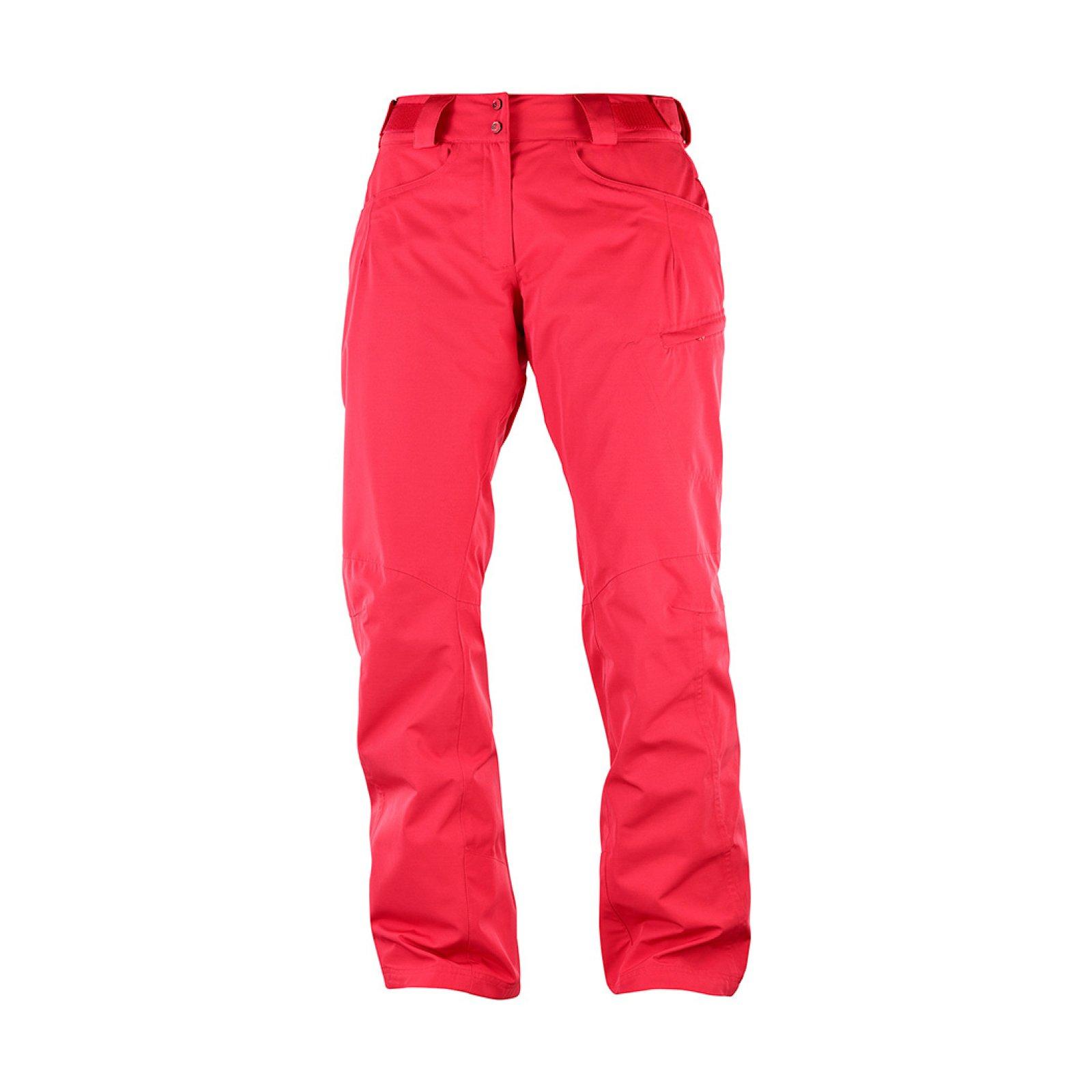 Lyžařské kalhoty Salomon Fantasy Pant W hibiscus heather L40367000 ... 610f90eb58