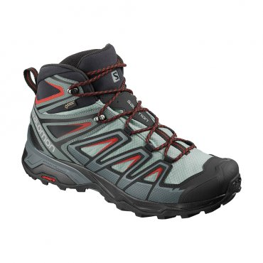 Salomon X Ultra 3 Mid GTX M L40662000 Lead/Stormy Weather/Bossa Nova