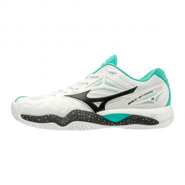Mizuno Wave Intense Tour 5 CC W White/Black/Atlantis 61GC190035