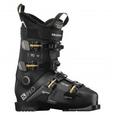 Salomon S/PRO 90 W BLACK/Belluga/Gold L40875800 20/21