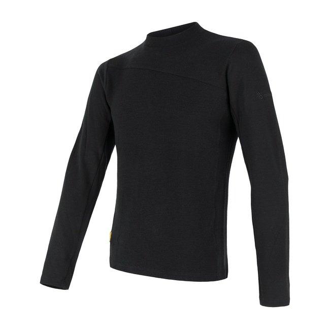 Sensor Merino Extreme pánské triko s dlouhým rukávem černá