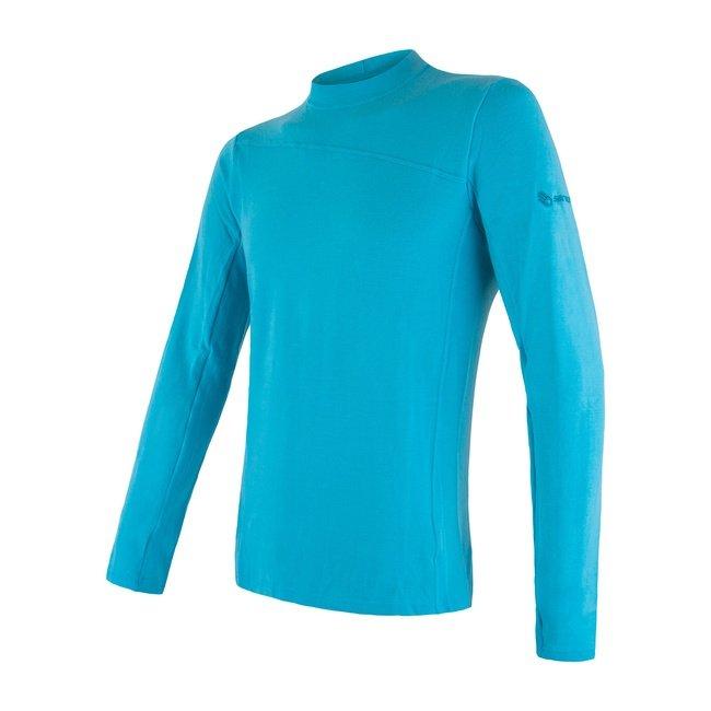 Sensor Merino Extreme pánské triko s dlouhým rukávem modrá