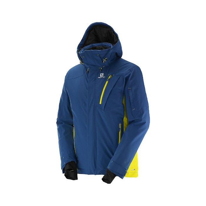 Salomon Iceglory jacket Midnight blue