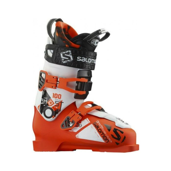 Lyžařské boty Salomon Ghost FS 100 Orange / White - 378165