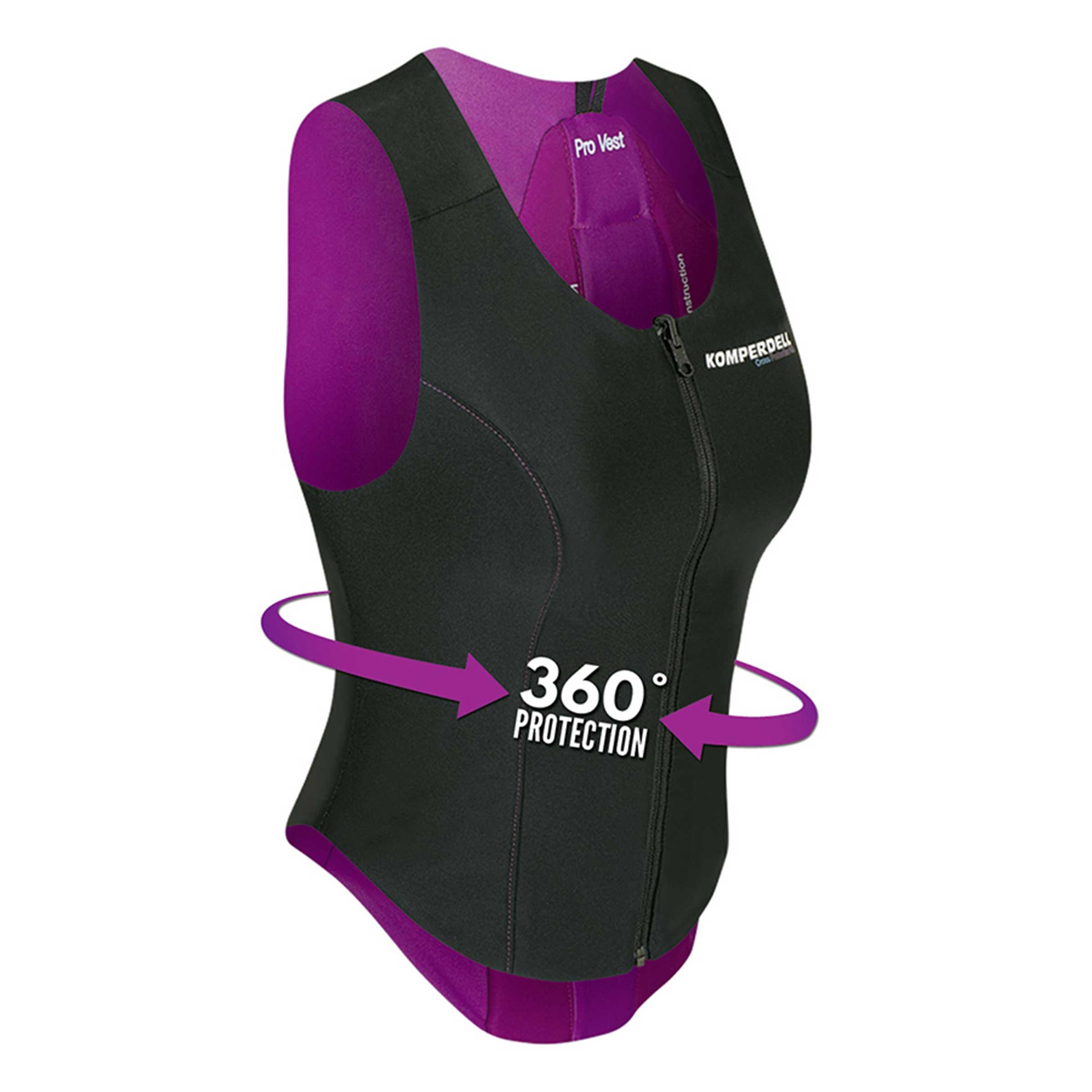 Komperdell PROTECTOR CROSS PRO VEST WOMEN