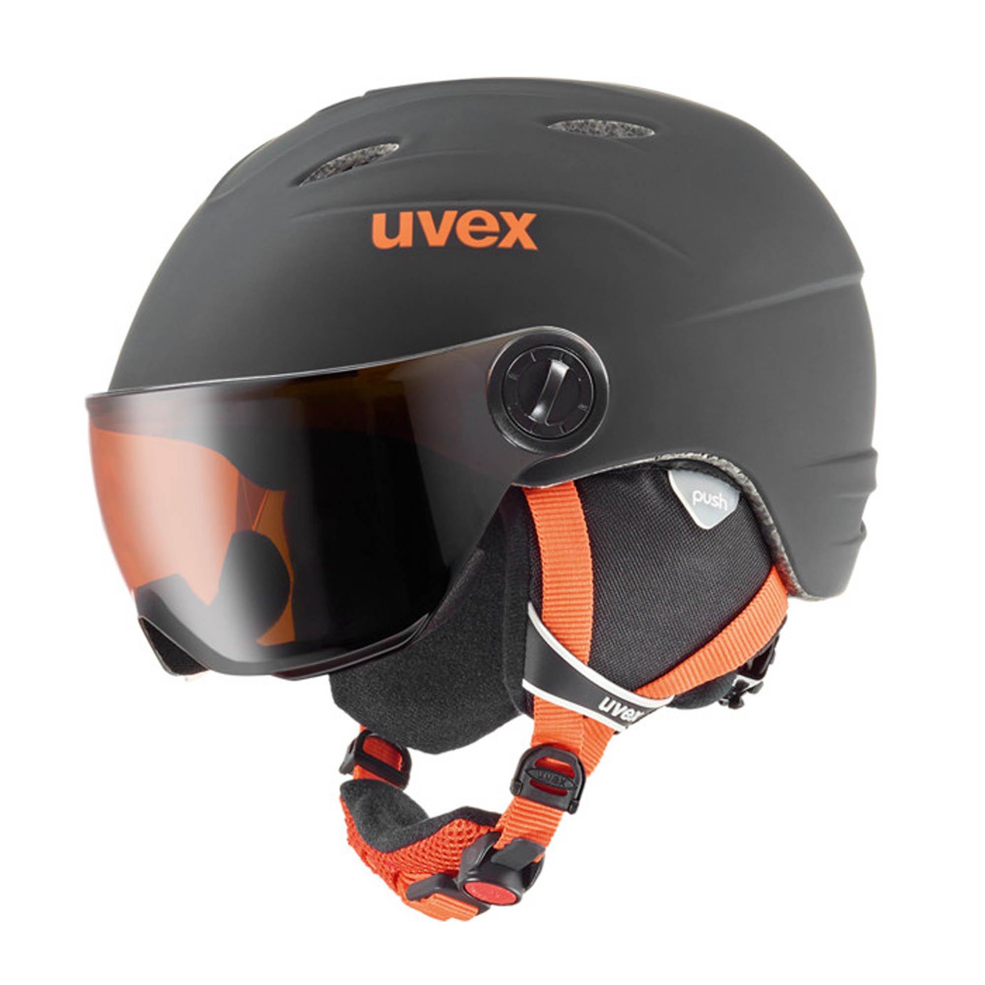 Uvex Visor Pro Jr Bl-Orange Mat 16/17