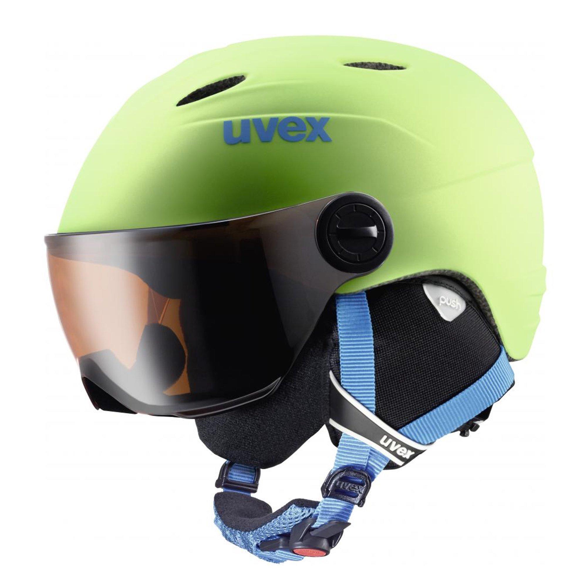 Uvex Visor Pro Jr Litegreen Mat 16/17