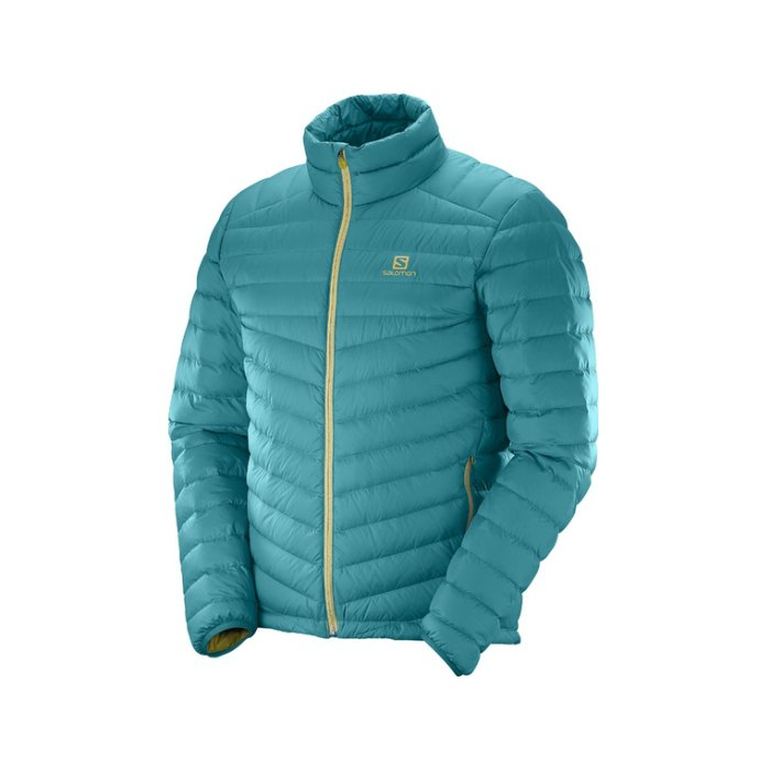 Salomon HALO DOWN JKT blue Steel