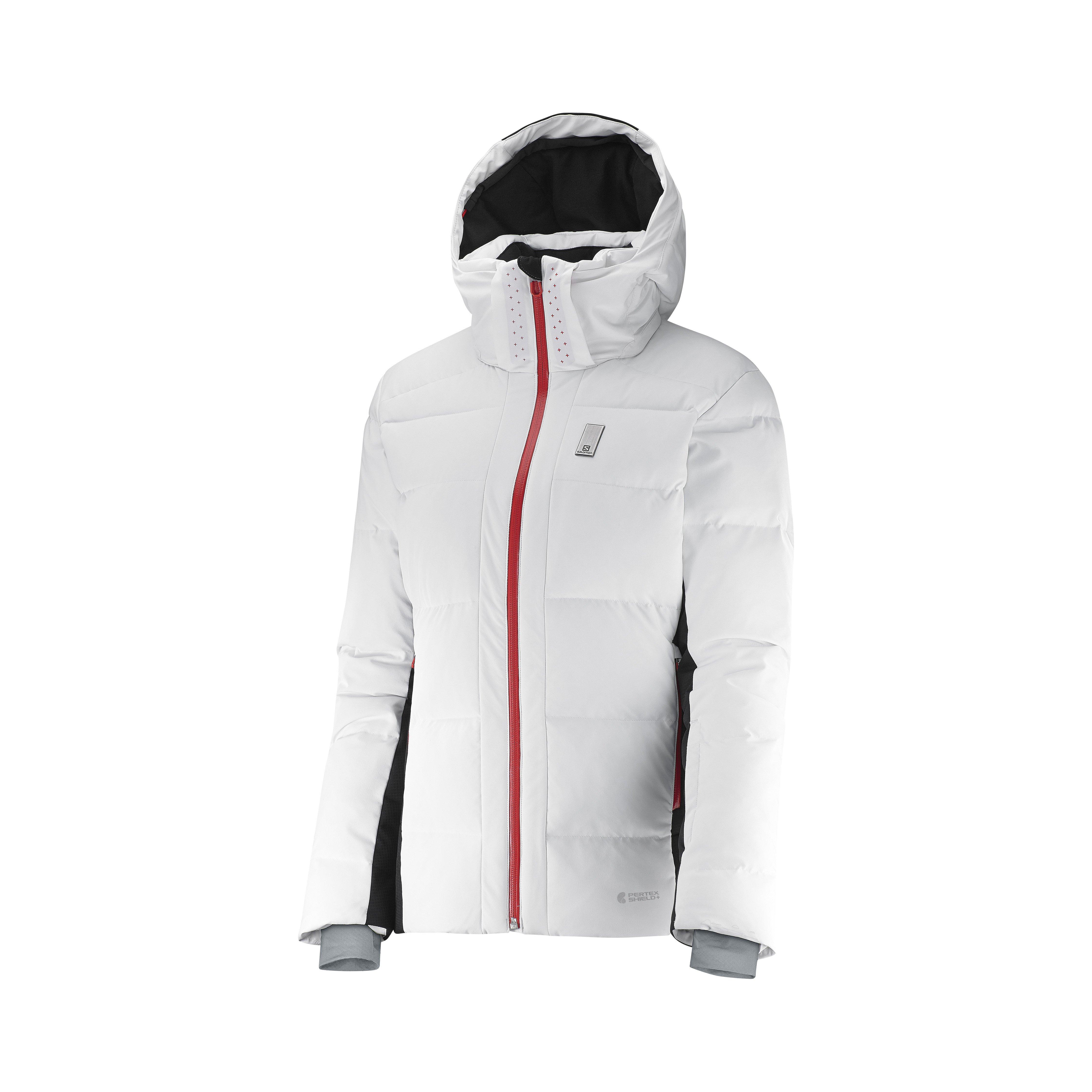 Salomon Whitebreeze Down JKT W White/Black L38231000