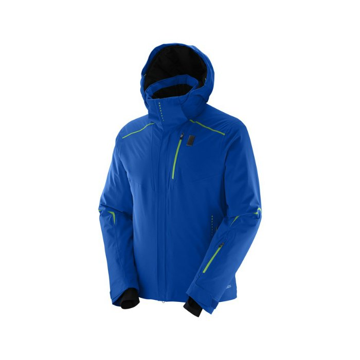 Salomon Whitelight JKT M blue L38272100