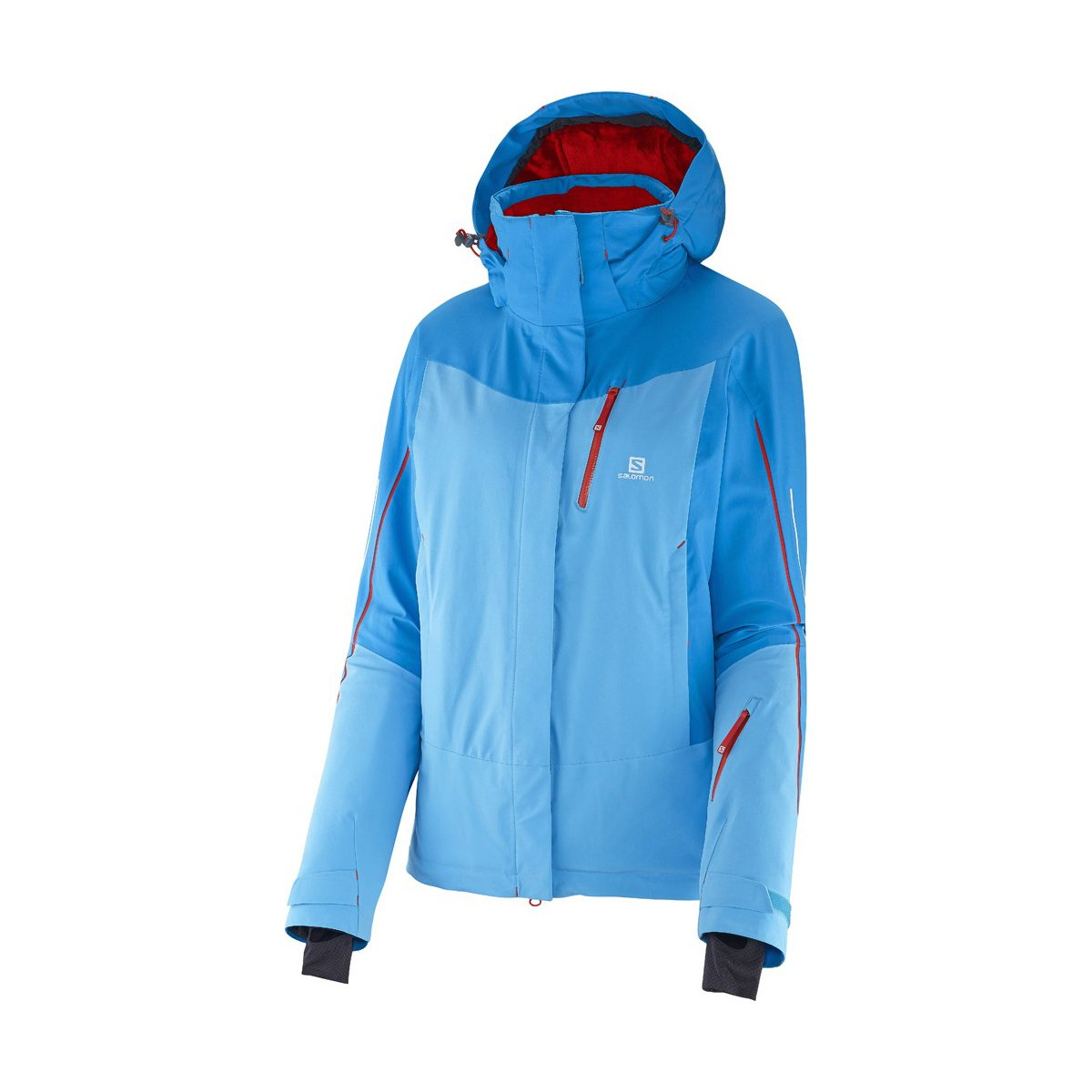 Salomon Iceglory Jacket W Blue Line