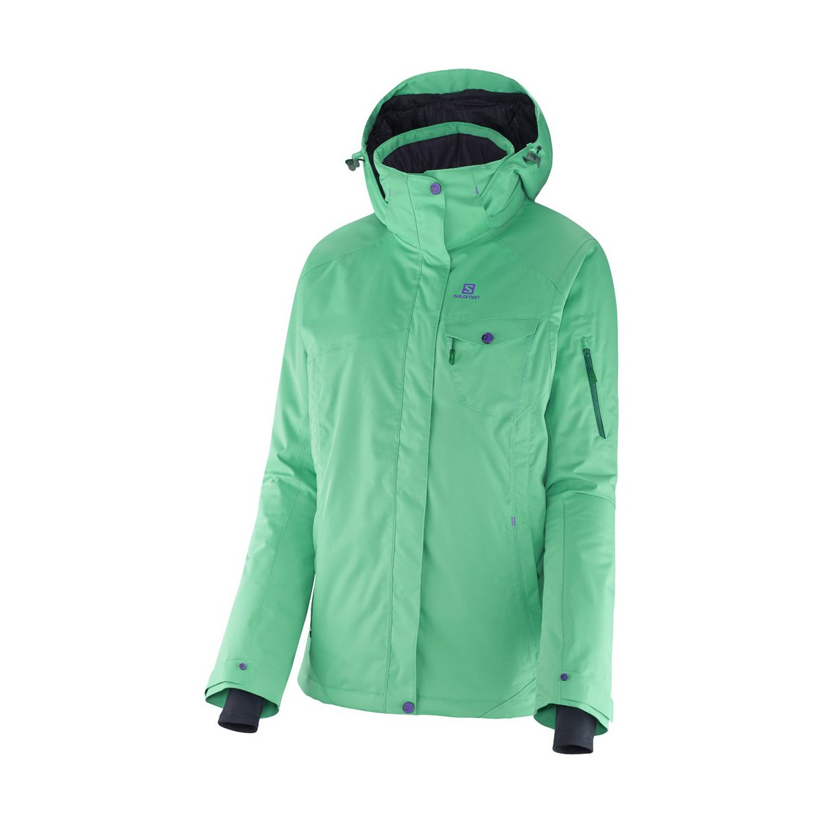 Salomon Contest Jacket W Cascade Green