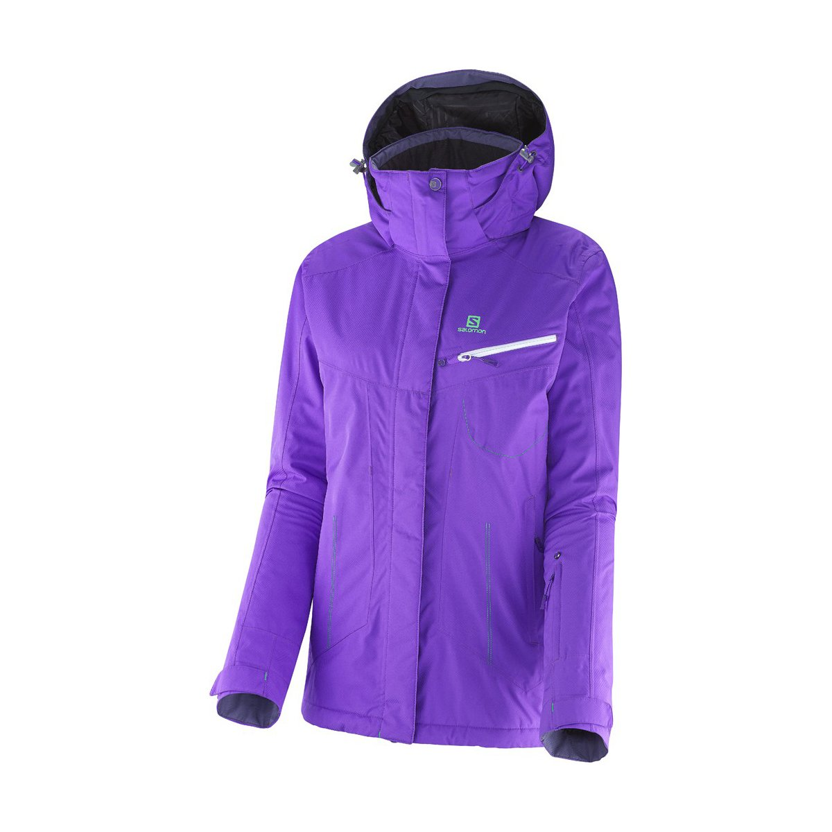 Salomon Impulse Jacket W Litlle Violette