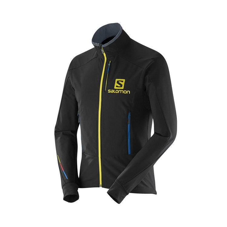 Salomon Momentum Softshell Jacket M Black 14/15