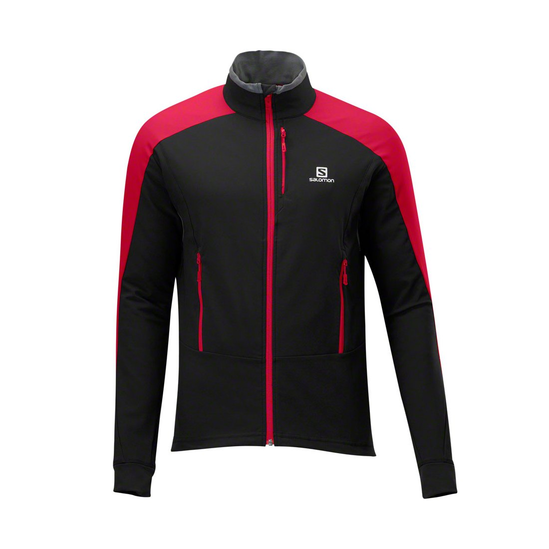 Salomon Momemtum Softshell jacketčerná