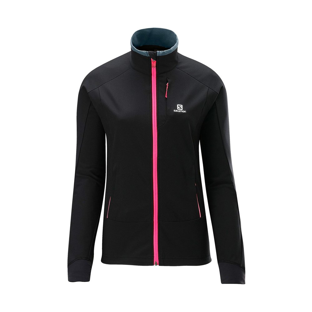 Salomon Momentum Softshell Jacket W Black