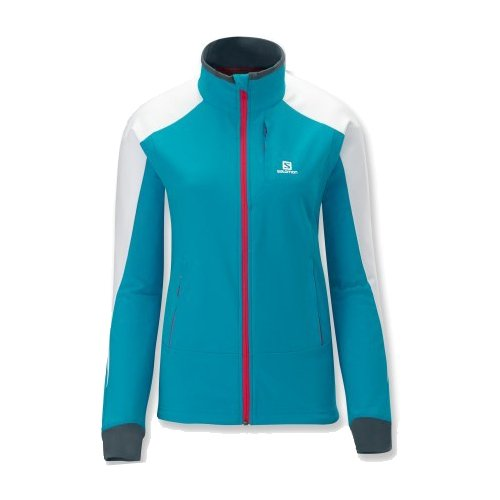 Salomon Momentum Softshell Jacket W Boss Blue