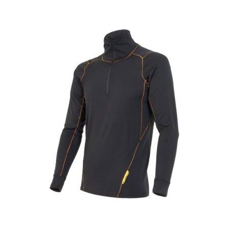Sensor Thermo EVO tričko se zipem pánské černé new