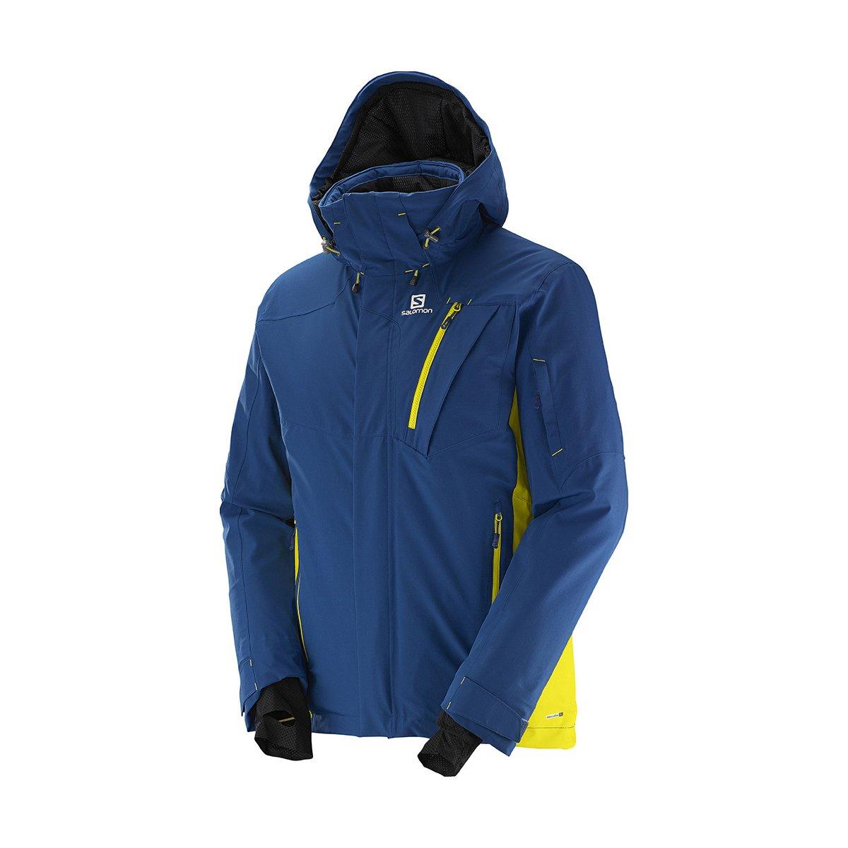 Salomon Iceglory Jacket M Midnight Blue 15/16